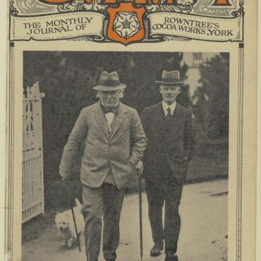 Lloyd George visits Rowntrees, with Seebohm Rowntree