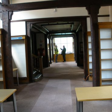 Inside the Joseph Rowntree Memorial Library