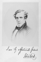 John Ford, headmaster of Bootham School. He took the young JR to Ireland.