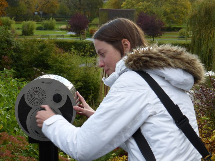 Audio post at Rowntree Park - minute memories