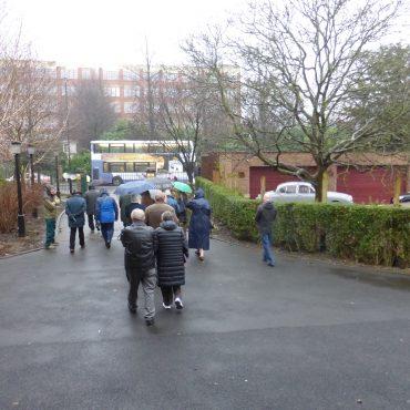 Residents Festival 2016 Haxby Road walk in the rain