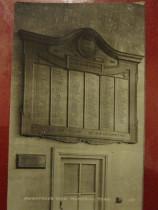 War memorial plaque in the Rowntree factory