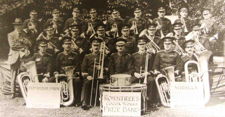 Brass band 1936