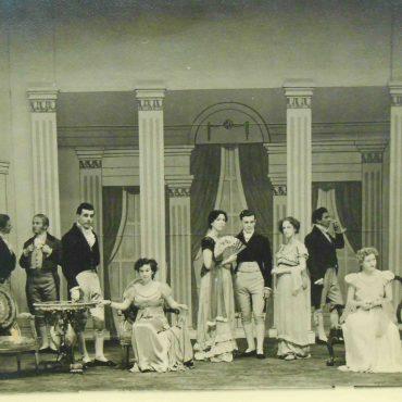 Joseph Rowntree Memorial Theatre at work