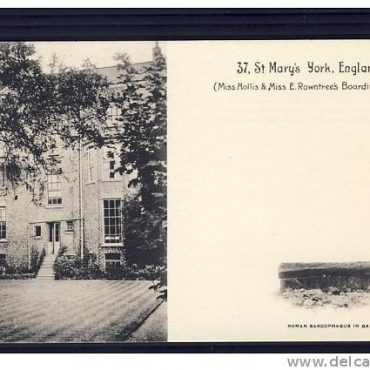 Emily Rowntree's boarding house