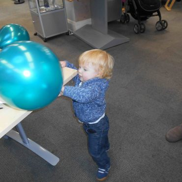 Our youngest project participant