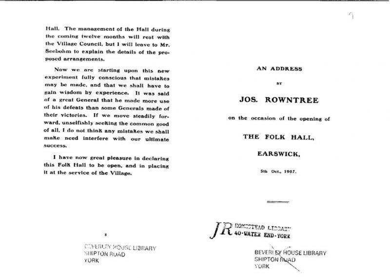thumbnail of JR speech at opening of Folk Hall 1907a