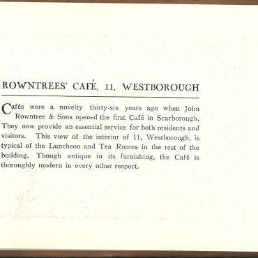 Westborough cafe