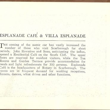 John Rowntree & Sons brochure