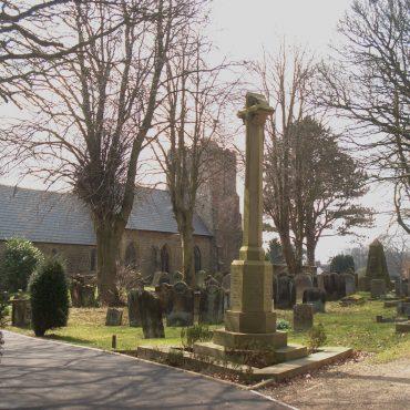 war memorial at Scalby church